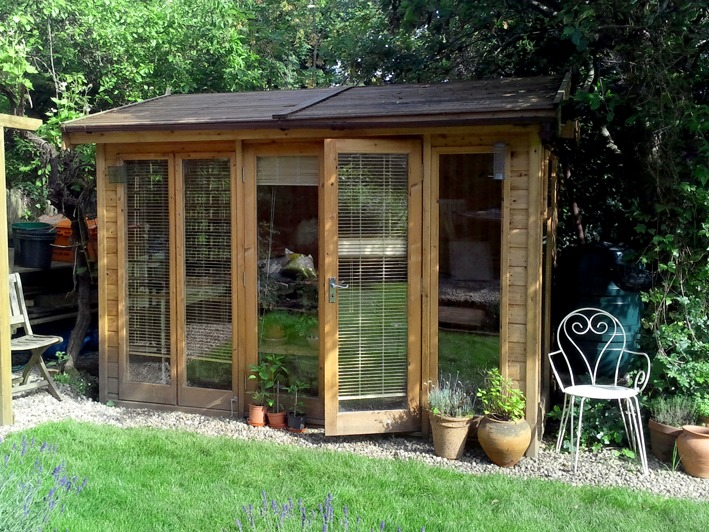The Studio Pavilion Garden Studio by Malvern Garden Buildings
