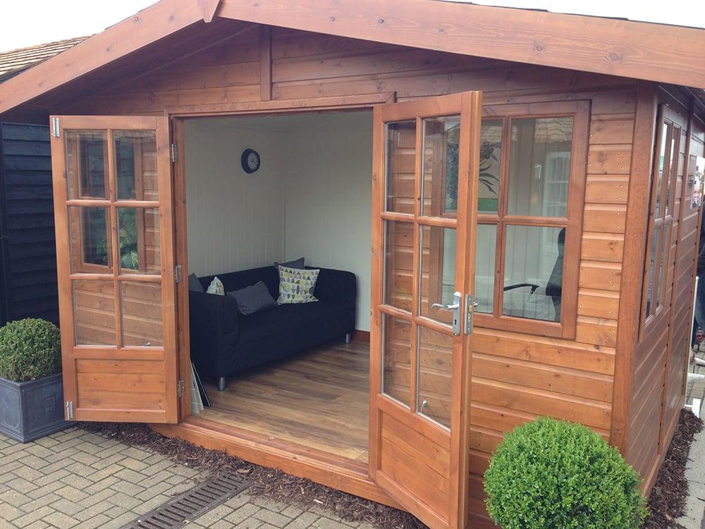 Apex Roof Arley Garden Studio by Malvern Garden Buildings