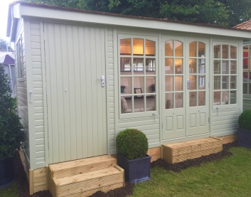 Astwood with painted external finish and extension