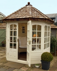 6' x 6' Hopton with Georgian windows and doors