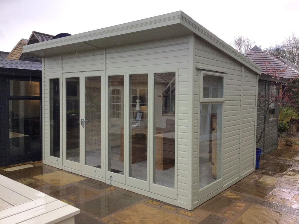 The Studio Pent Summerhouses At Malvern Garden Buildings