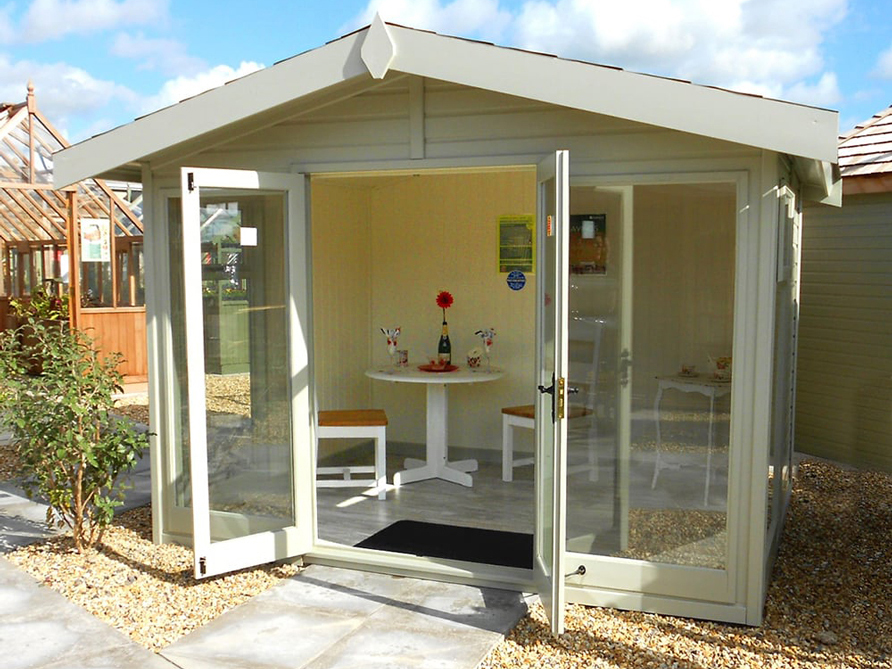 The Studio Apex Garden Studio by Malvern Garden Buildings