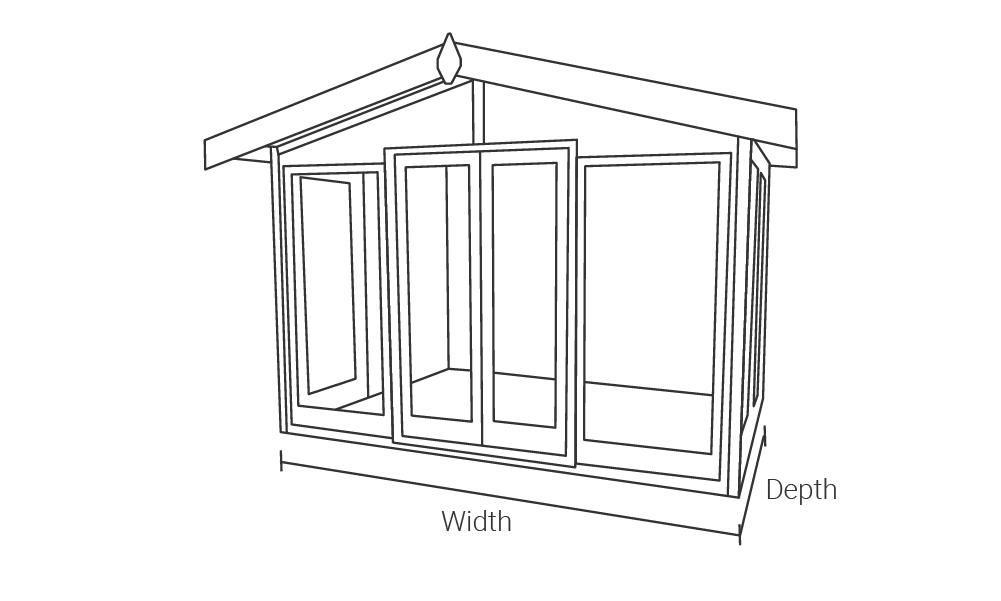 Malvern Garden Buildings Studio Apex drawing