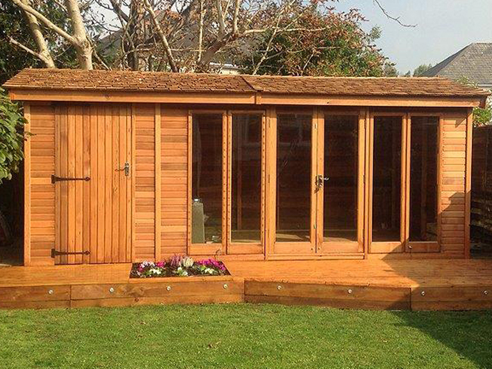 The Studio Pavilion Shoffice Garden Studio by Malvern Garden Buildings