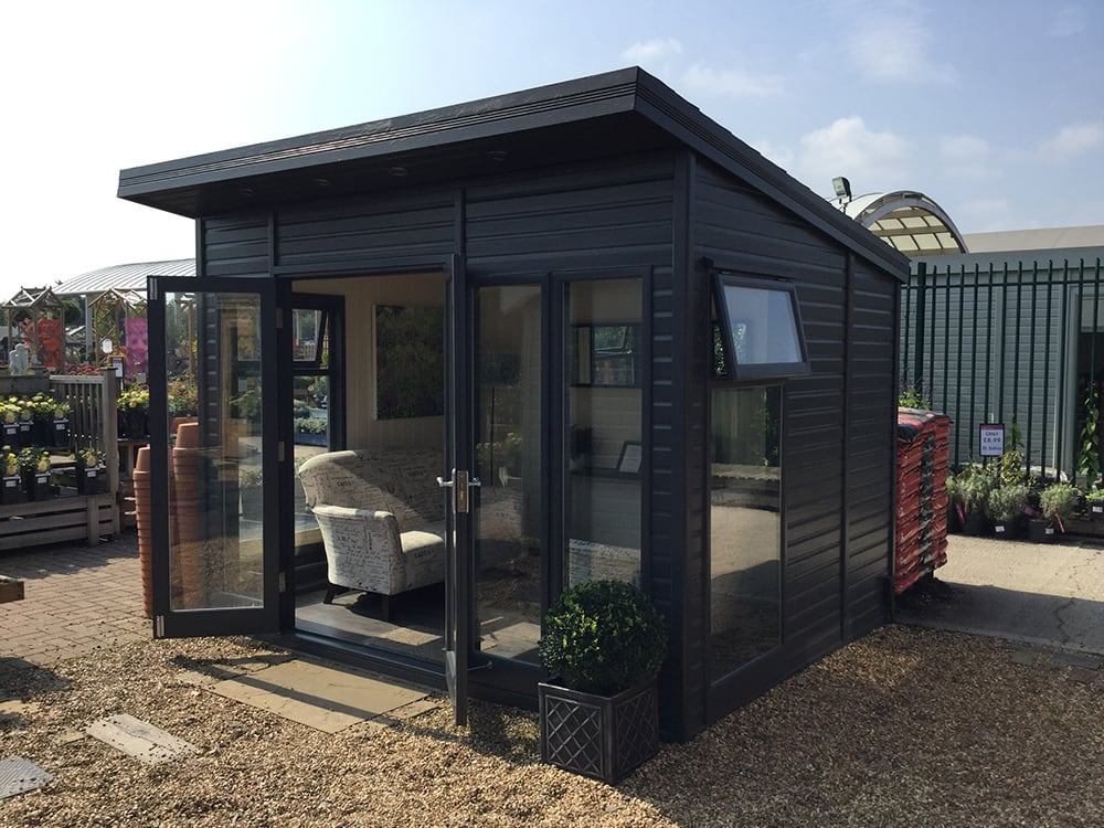 The Studio Pent Garden Studio by Malvern Garden Buildings