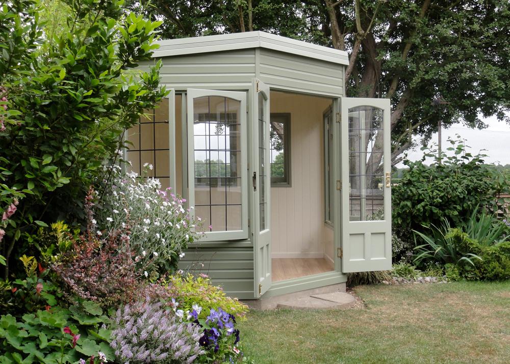 Harwood Cottage Range summerhouse Malvern Garden Buildings