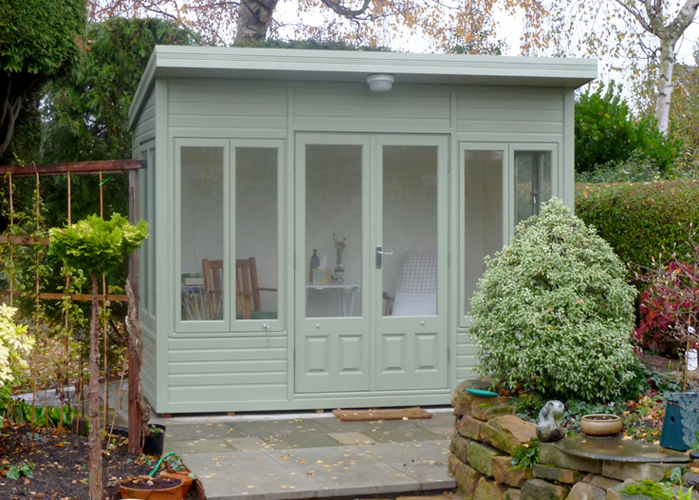 Stretton Cottage Range summerhouse Malvern Garden Buildings