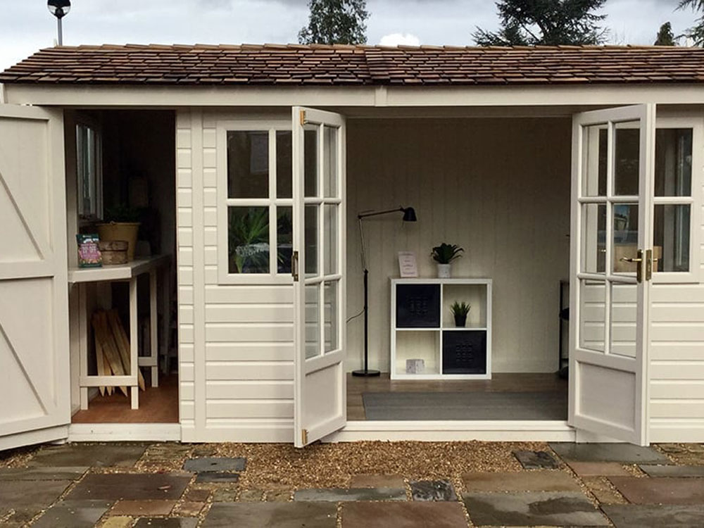 The Arley Studio Pavilion Shoffice Garden Studio by Malvern Garden Buildings
