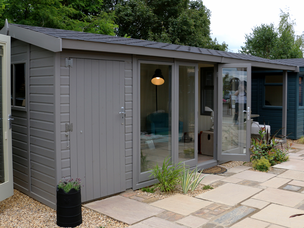 Studio Pavilion garden office by Malvern Garden Buildings
