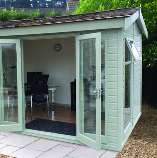 Shop Online For A Garden Office With Malvern Garden Buildings