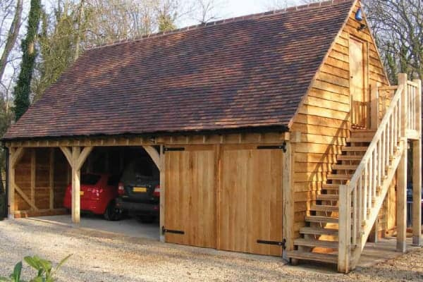 Oak Structures - garages & carports