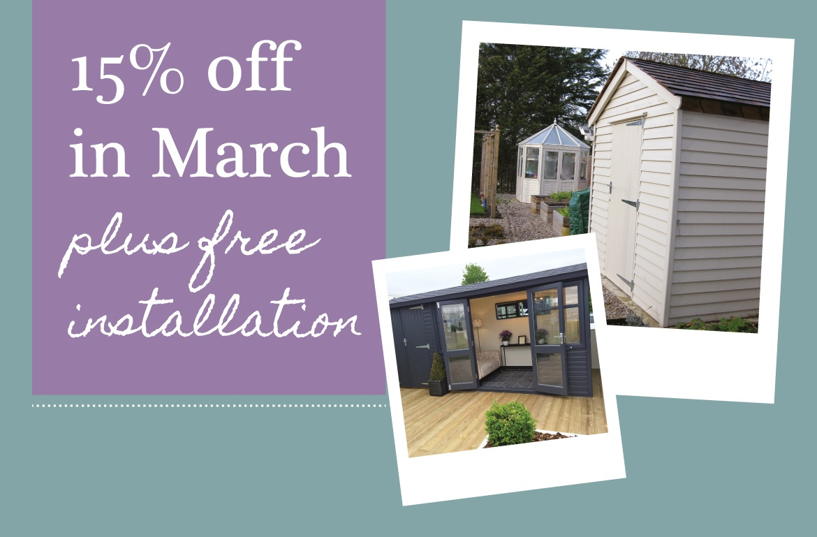 15% off March 2016