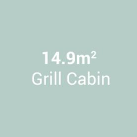 14.2m Grill Cabin