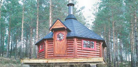 16.5m2 Grill Cabin