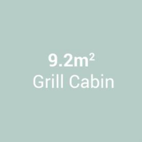 9.2m Grill Cabin