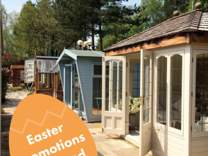 Easter Weekend Promotions at our Staffordshire Showsite