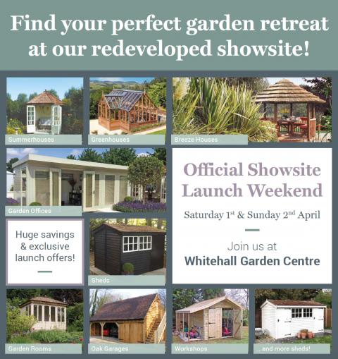 Malvern Garden Buildings Wiltshire Showsite official launch