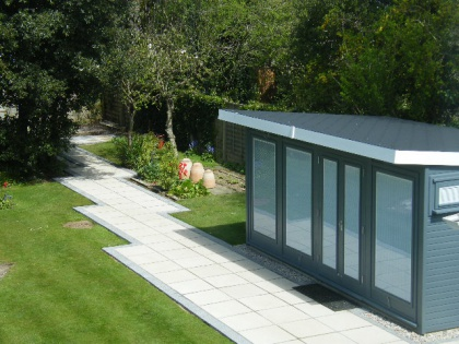 The perfect garden office for working from home