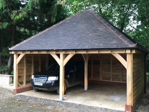 Introducing Breeze House Oak to Malvern Garden Buildings Wiltshire