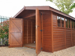 Stanford Apex Shed