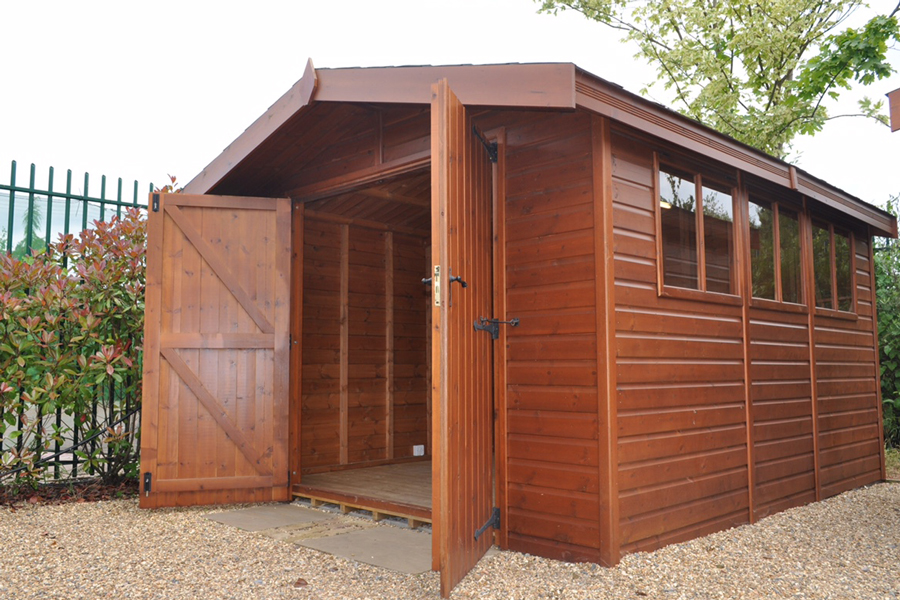 Shed Stanford apex