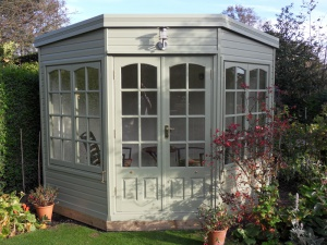 The Harwood summerhouse