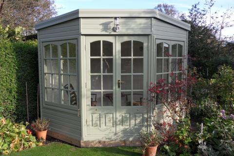 The Harwood summerhouse