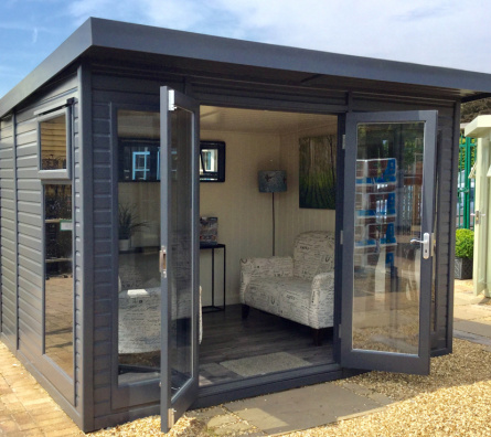Studio Pent by Malvern Garden Buildings