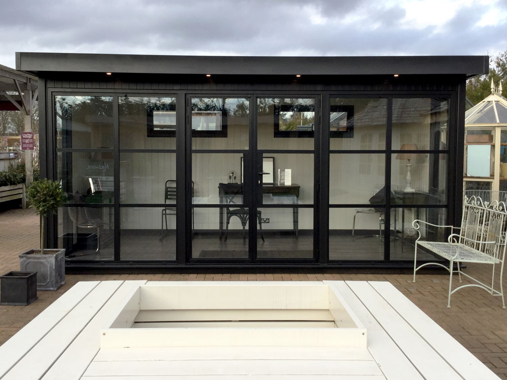 Hanley Heritage bespoke garden office by Malvern Garden Buildings