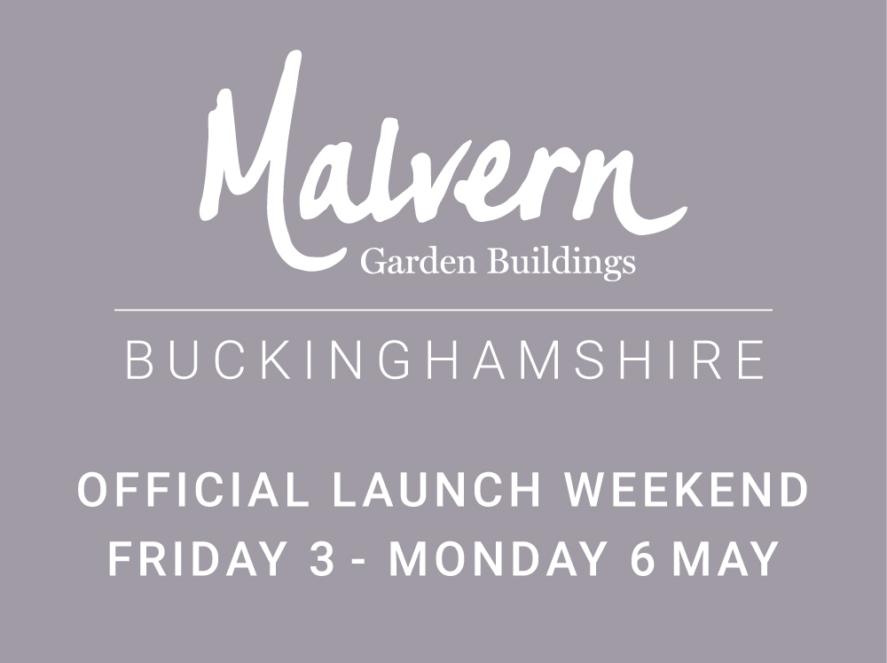 Malvern Garden Buildings new Buckinghamshire showsite at Buckingham Garden Centre
