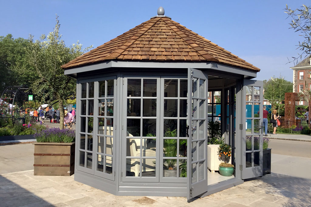 The Kew Imperial premium summerhouse by Malvern Garden Buildings