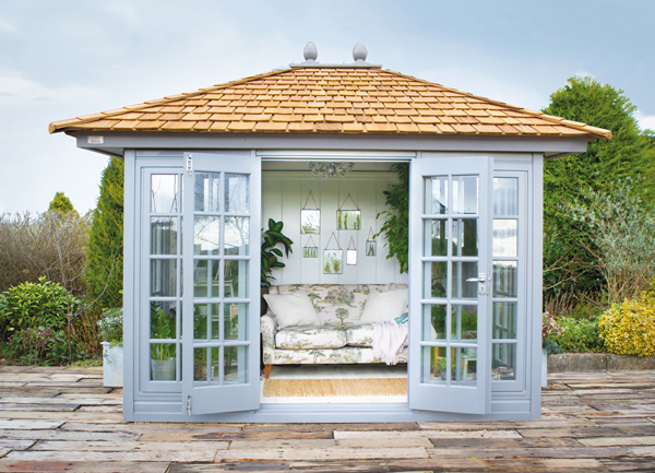 The Kew Victoria premium summerhouse by Malvern Garden Buildings