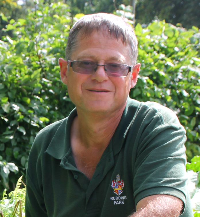 Adrian Reeve, Kitchen Gardener at Rudding Park. Dine alfresco in the Breeze House set in the garden