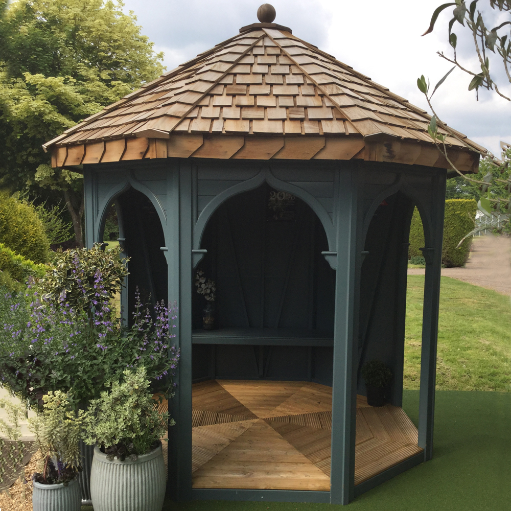 Ribbesford Cottage Range summerhouse Malvern Garden Buildings