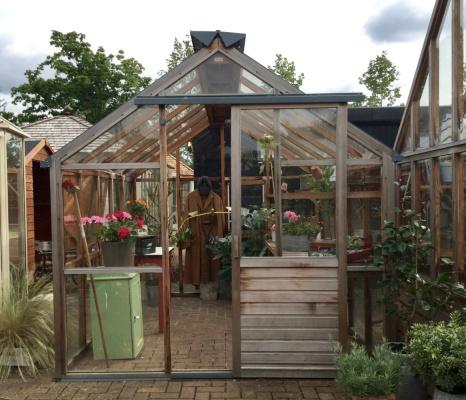 Classic Eight Garden Greenhouse ex-display garden building available at Malvern Garden Buildings, Shepperton, Greater London