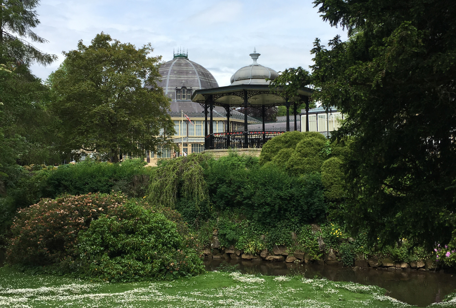 Buxton Pavilion Gardens, Buxton, Derbyshire. Staycation Inspiration by Malvern Garden Buildings