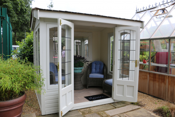 Astwood Garden Room ex-display garden building available at Malvern Garden Buildings, Leek, Staffordshire