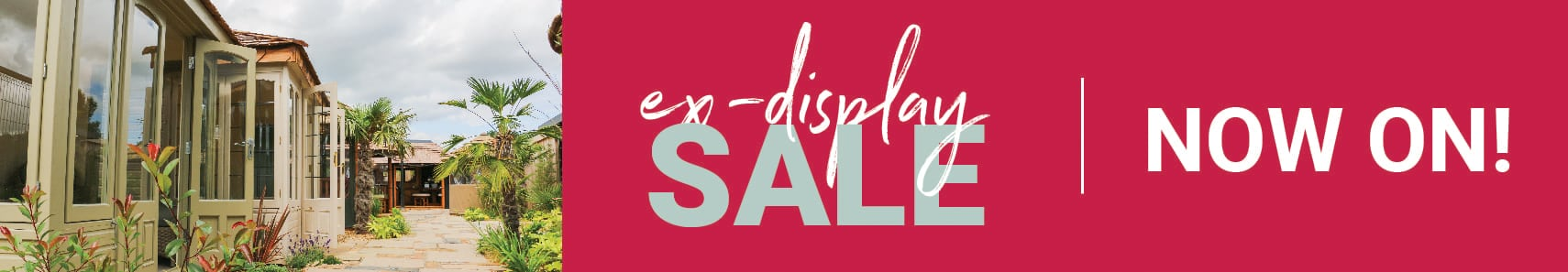 Ex-display sale now on!