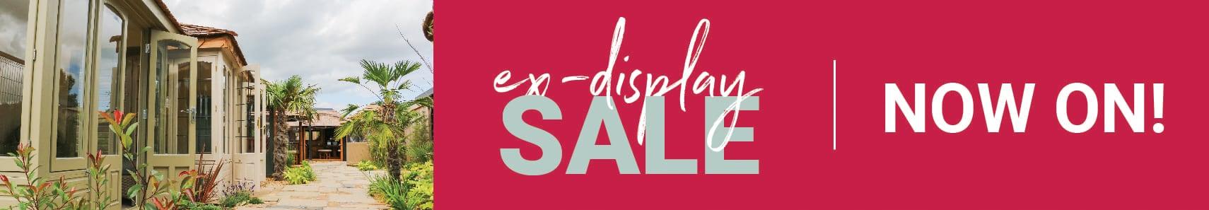 Ex-display sale now on!