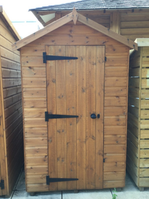 Ex-display Bewdley Apex garden shed available from Malvern Garden Buildings
