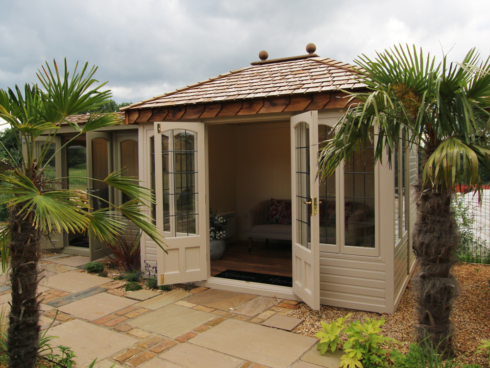 Ashton Cottage Range summerhouse Malvern Garden Buildings