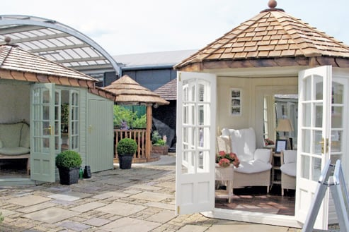 Malvern Garden Buildings Greater London Showsite