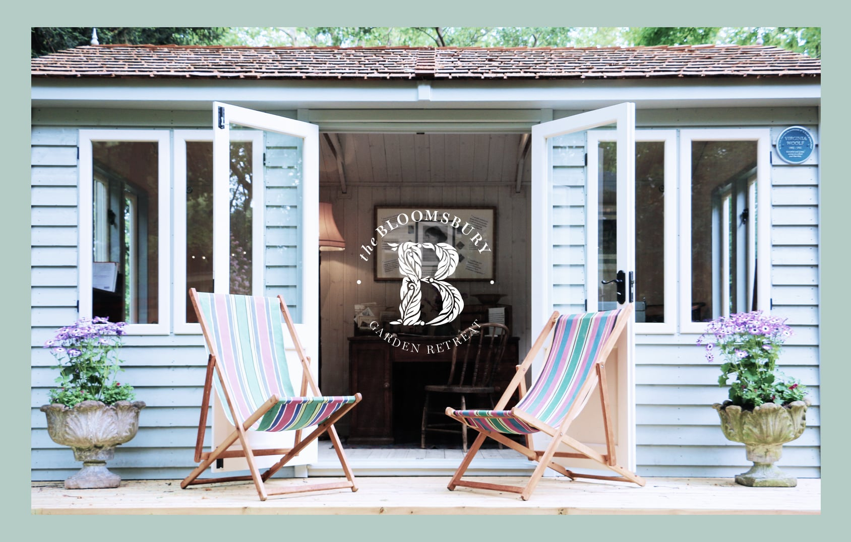 The Bloomsbury writing retreat, exclusive to Malvern Garden Buildings