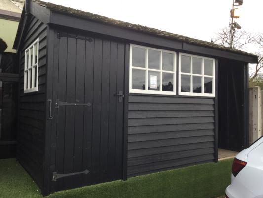 Holt Workshop garden shed ex-display garden building available at Malvern Garden Buildings, Twickenham, Greater London