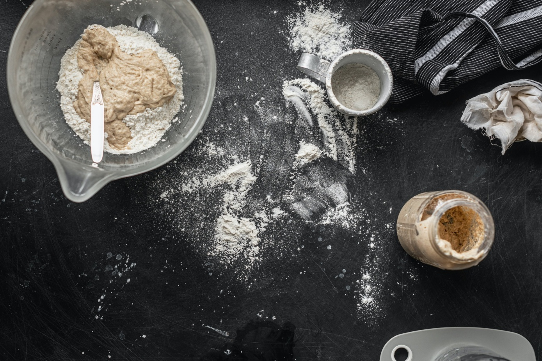Sourdough bread making - cottagecore trend