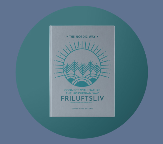 Cover of Friluftsliv book by Oliver Delorie