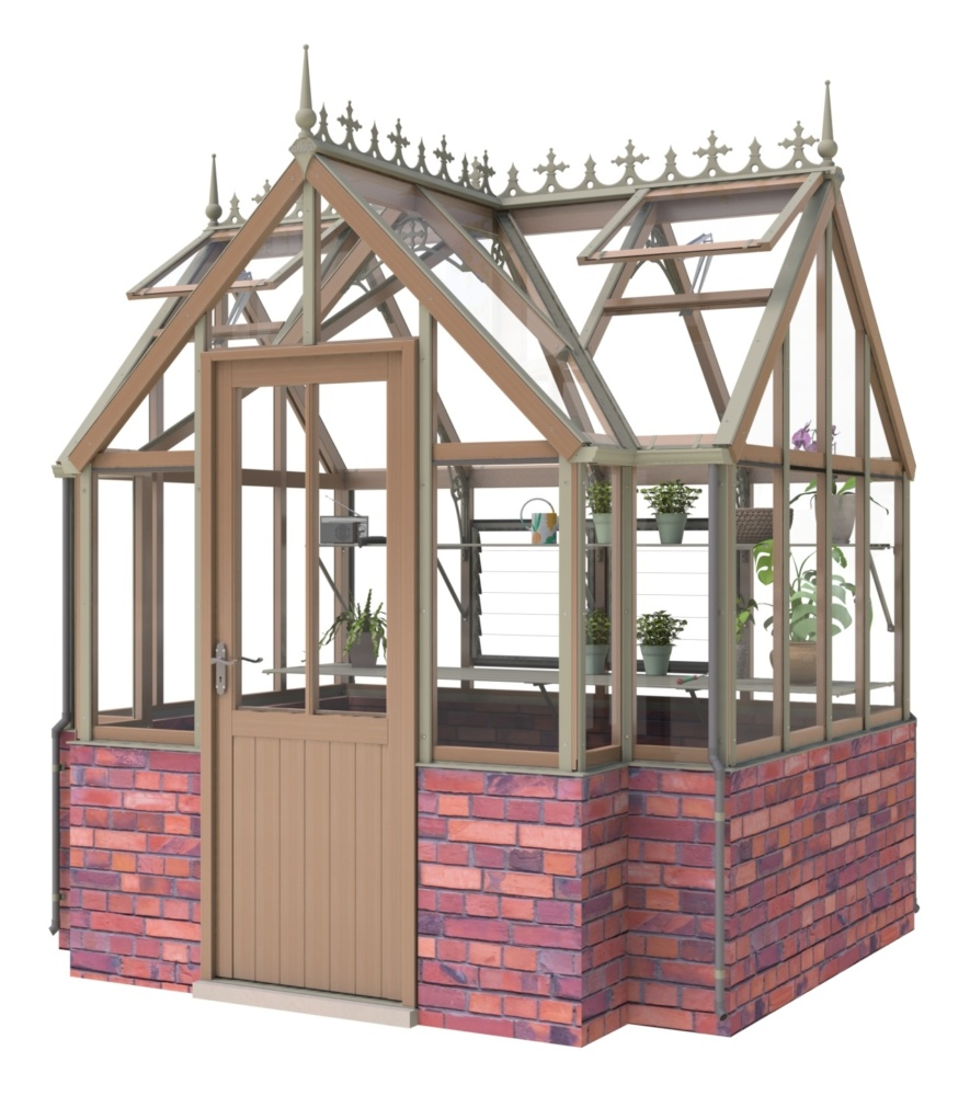 Ewell Victorian greenhouse 7 x 8 by Alton