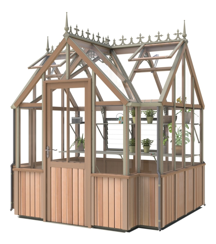 Victorian Durham greenhouse by Alton