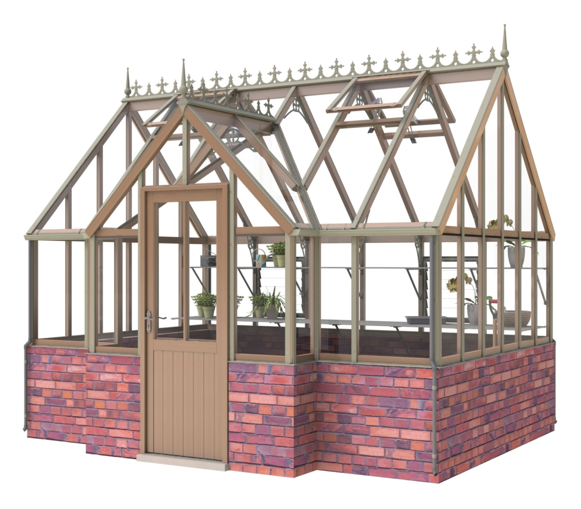Elmhurst Victorian greenhouse 9 x 12 by Alton