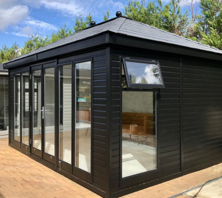 Hipped Roof Studio by Malvern Garden Buildings